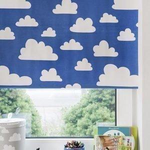 Färg & Form Moln Rullaverho Sininen 120 cm