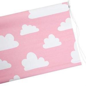Färg & Form Moln Rullaverho Vaaleanpunainen 120 cm