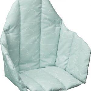 Färg & Form Moln Syöttötuolin istuinpehmuste Mintunvihreä