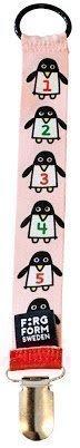 Färg & Form Penguin Pals Tuttinauha 24 cm Vaaleanpunainen