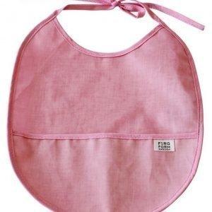 Färg & Form Ruokalappu Vaaleanpunainen