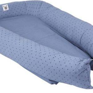 Färg & Form Skummis Cozy bed Sininen/musta
