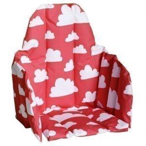 Färg & form Moln Lastentuolin istuinosa Punainen