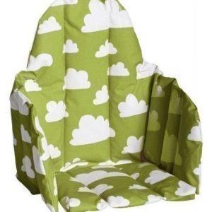 Färg & form Moln Lastentuolin istuinosa Vihreä