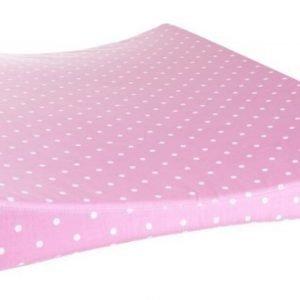 Färg & form Pilkullinen Hoitopöydän alusta Pinkki