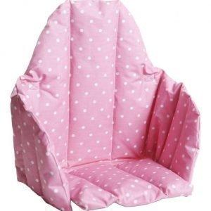 Färg & form Pilkullinen Lastentuolin istuinosa Pinkki