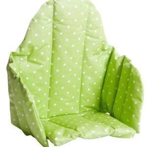 Färg & form Pilkullinen Lastentuolin istuinosa Vaaleanvihreä