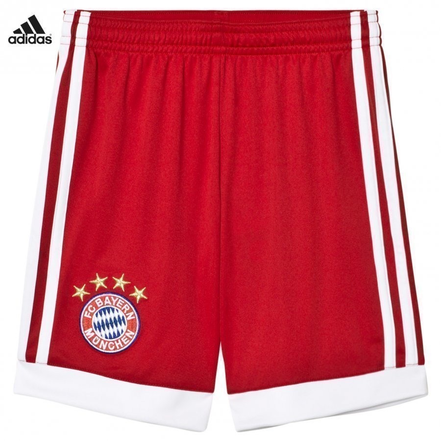 FC Bayern München ´17 Junior Home Shorts Jalkapalloshortsit