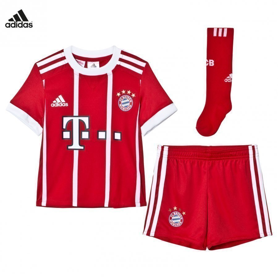 FC Bayern München ´17 Kids Home Kit Jalkapalloasu