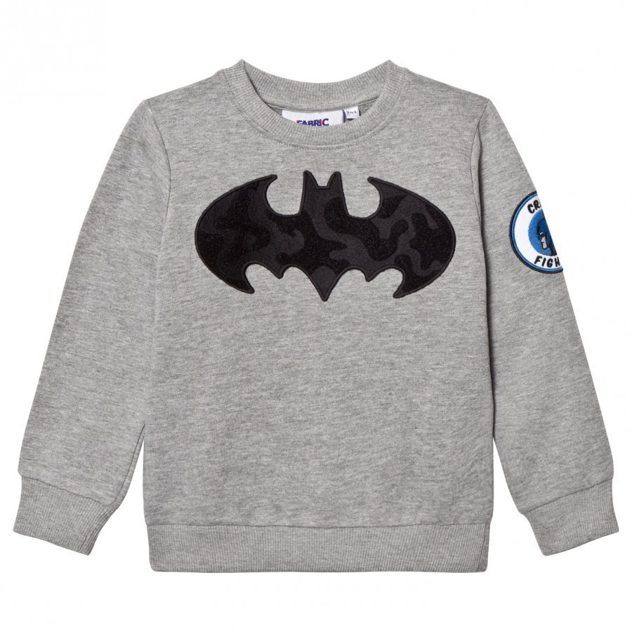 Fabric Flavours Batman Interchangeable Patch Sweatshirt Oloasun Paita