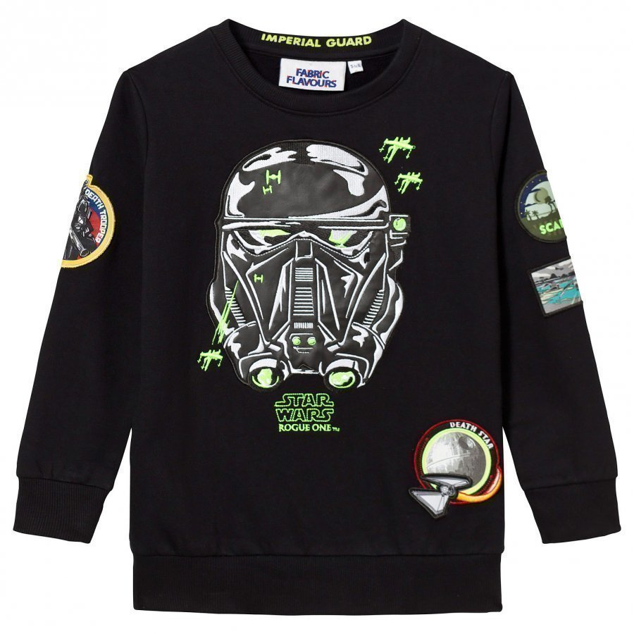 Fabric Flavours Death Trooper Patch Sweatshirt Oloasun Paita