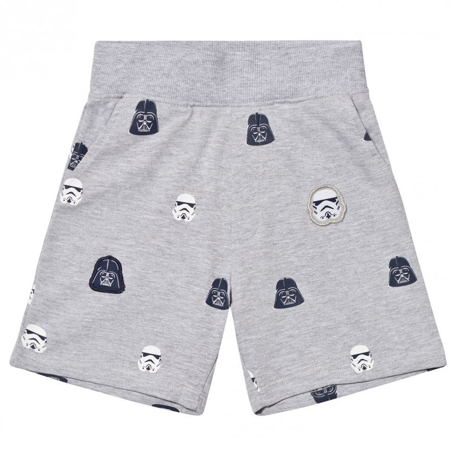 Fabric Flavours Grey Star Wars Empire Sweatshorts Oloasun Shortsit