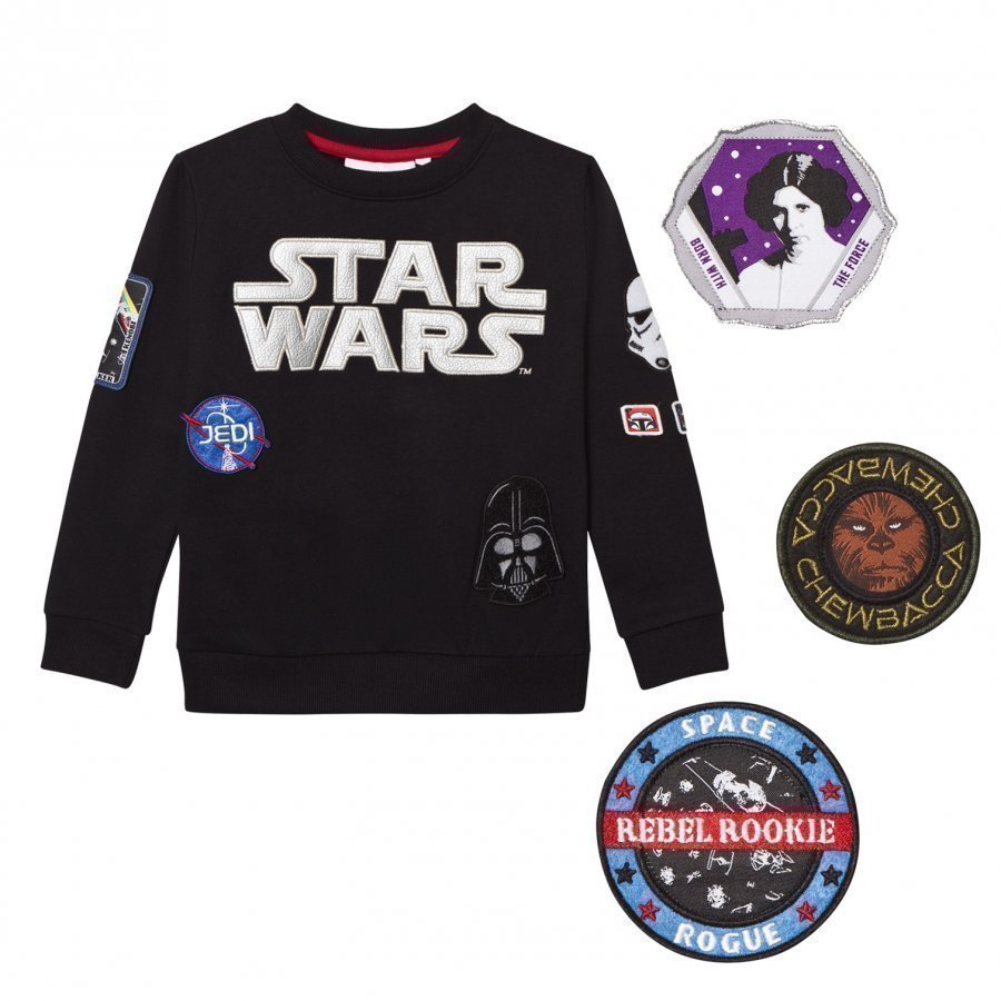 Fabric Flavours Star Wars Interchangeable Patch Sweatshirt Oloasun Paita