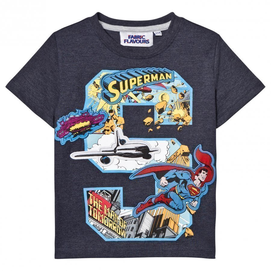 Fabric Flavours Superman S Comic Graphic Tee T-Paita