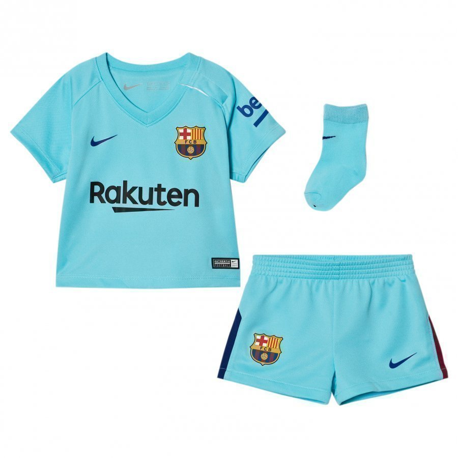 Fc Barcelona Infant Away Kit Jalkapalloasu