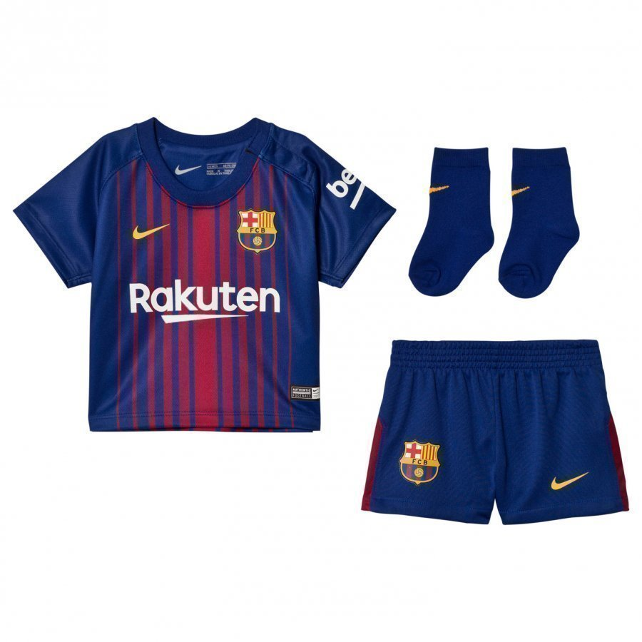 Fc Barcelona Infant Home Kit Jalkapalloasu