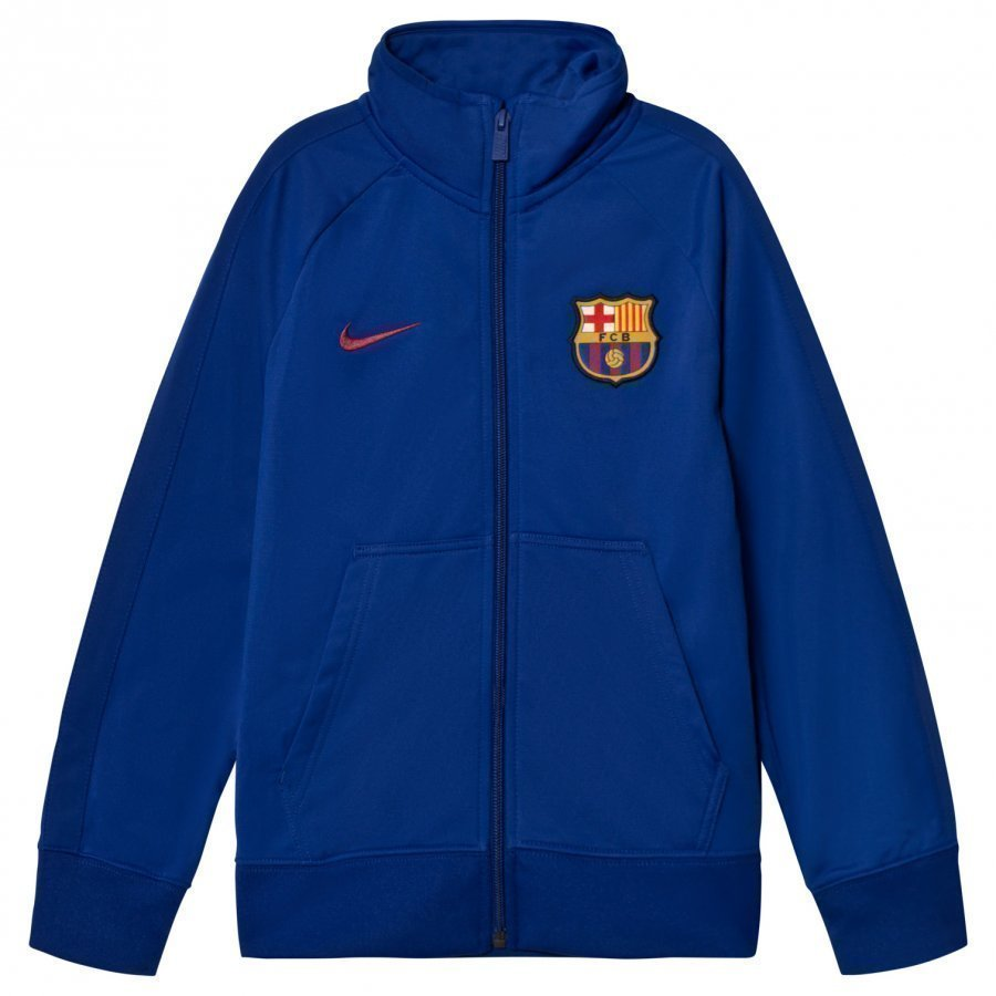 Fc Barcelona Junior Crew Jacket Jalkapallotakki