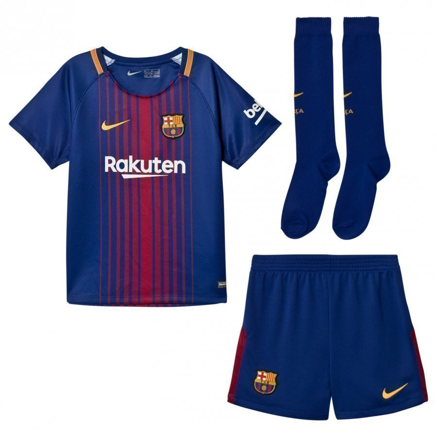 Fc Barcelona Kids Home Kit Jalkapalloasu