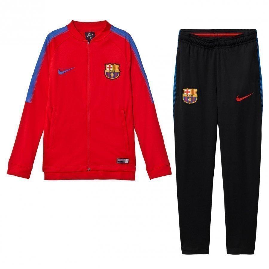 Fc Barcelona Squad Junior Tracksuit Jalkapalloasu