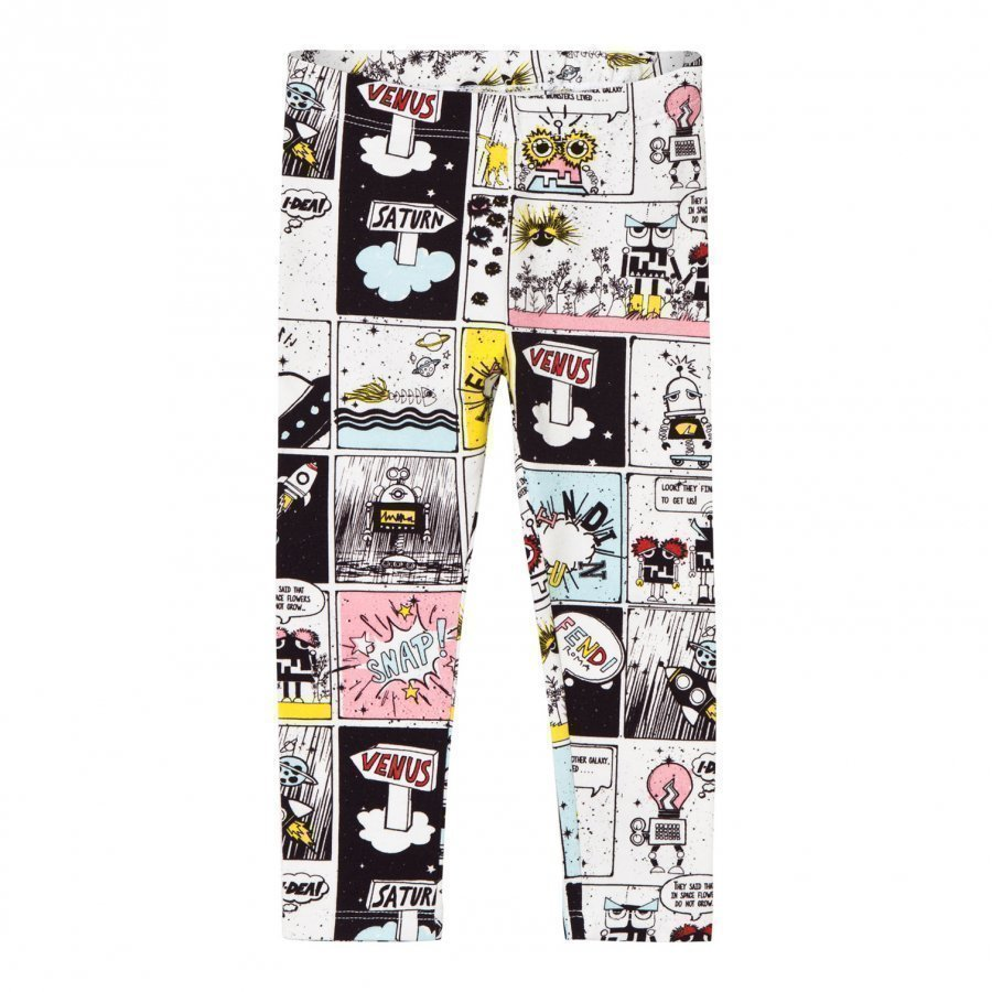 Fendi Multi Space Monster Print Leggings Legginsit