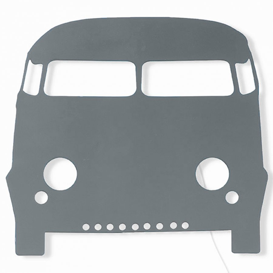 Ferm Living Car Lamp Dark Grey Seinävalaisin