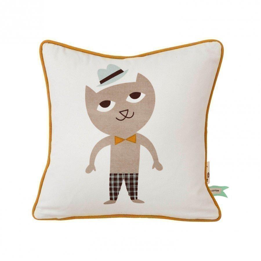 Ferm Living Cat Cushion Koristetyyny
