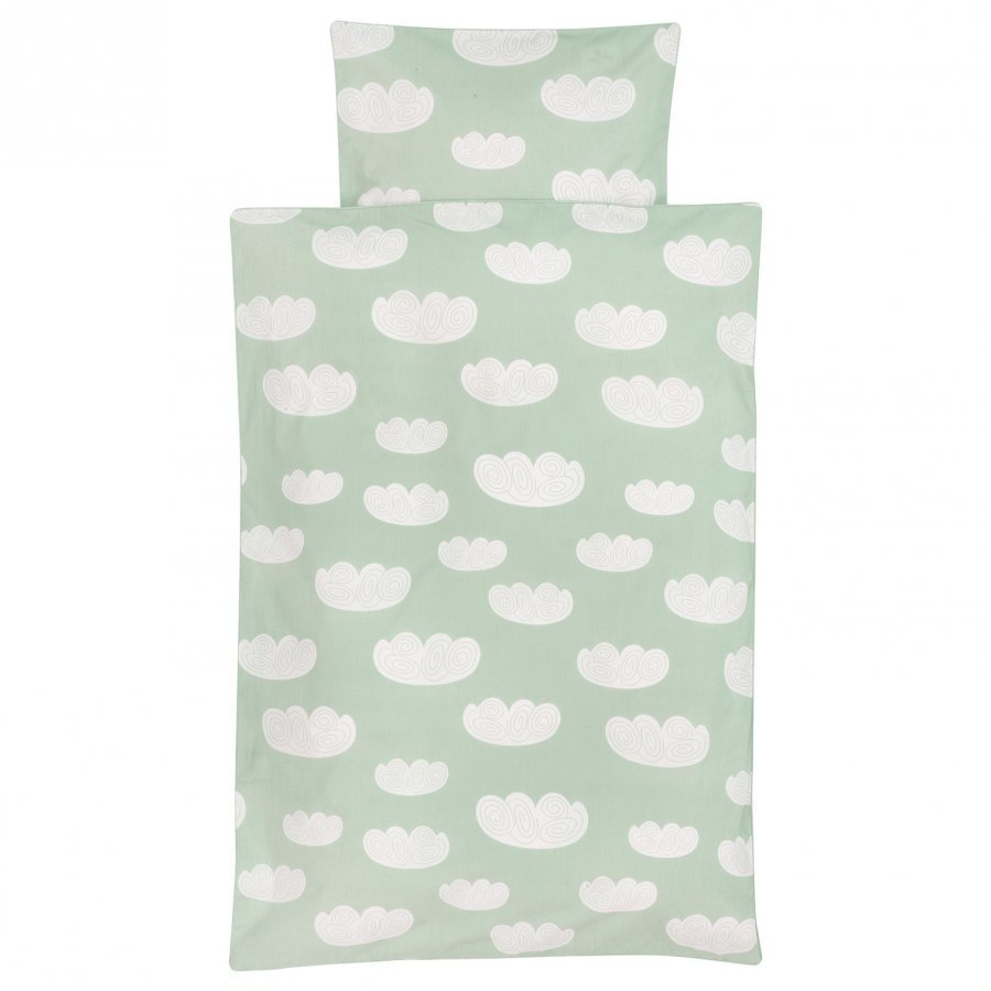 Ferm Living Cloud Bedding Mint Baby Vuodesetti