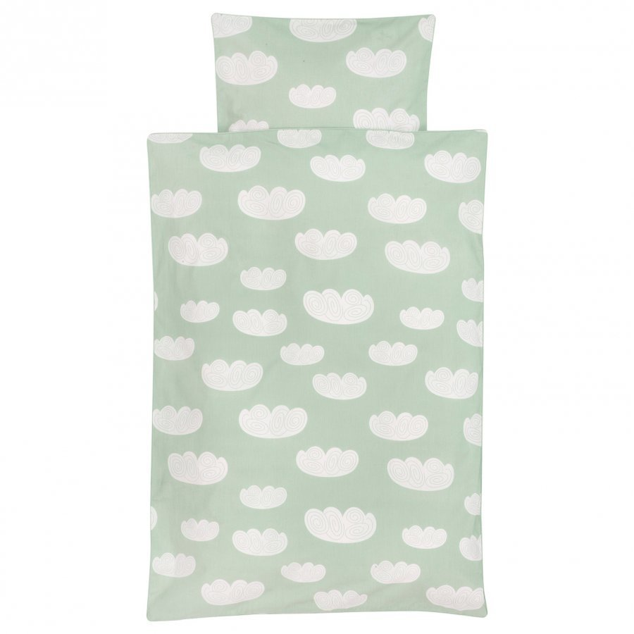 Ferm Living Cloud Bedding Mint Junior Vuodesetti
