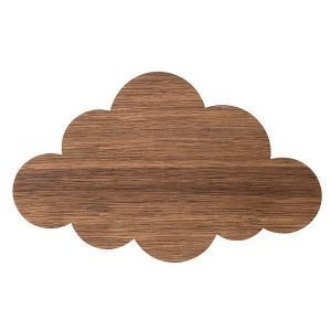 Ferm Living Cloud Seinävalaisin Savustettu Tammi