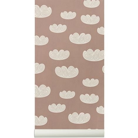 Ferm Living Cloud Tapetti Rosee Rosee