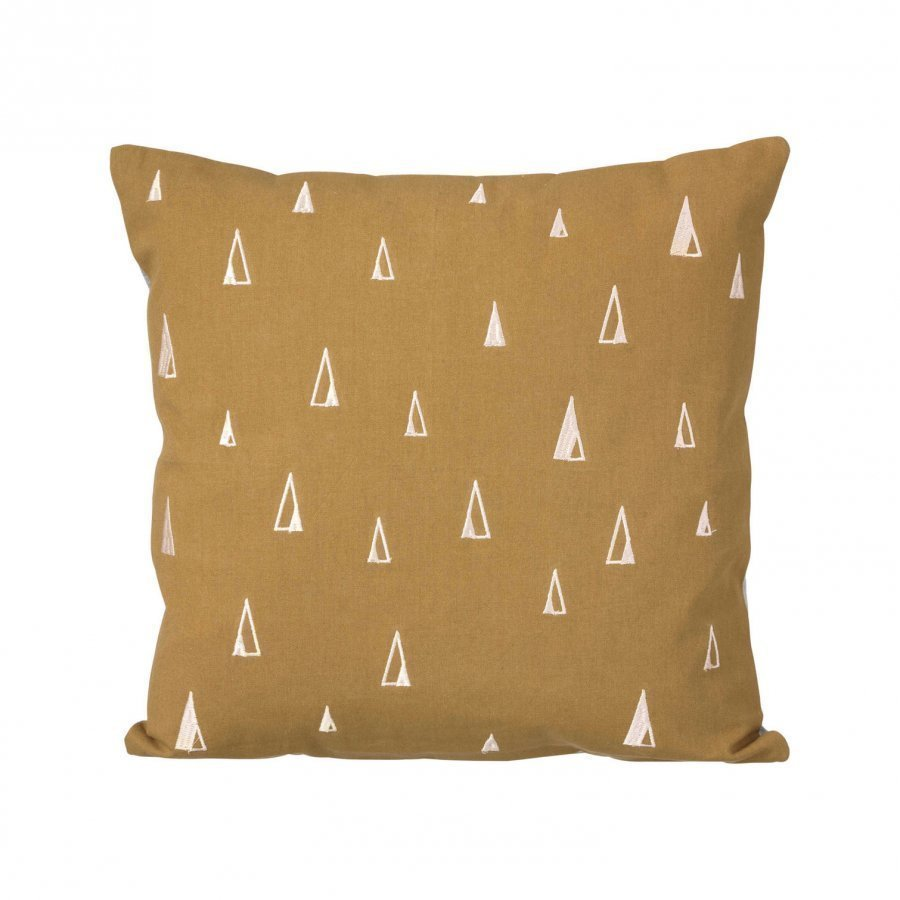 Ferm Living Cone Cushion Curry Koristetyyny