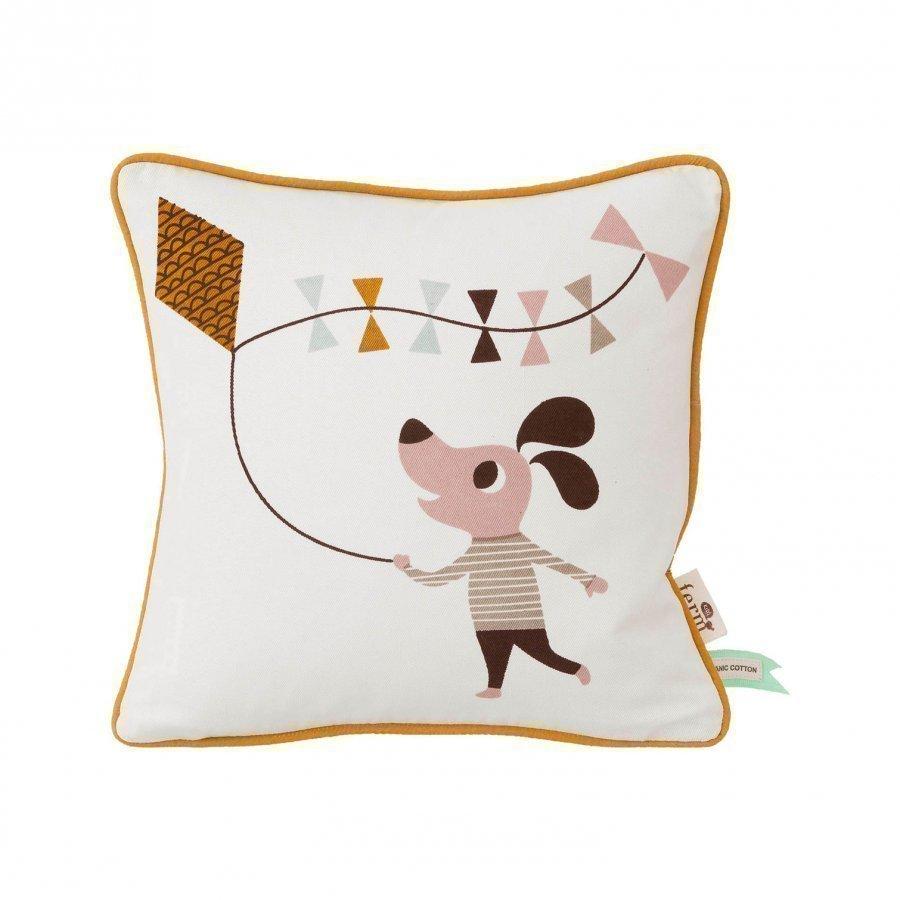 Ferm Living Dog Cushion Koristetyyny