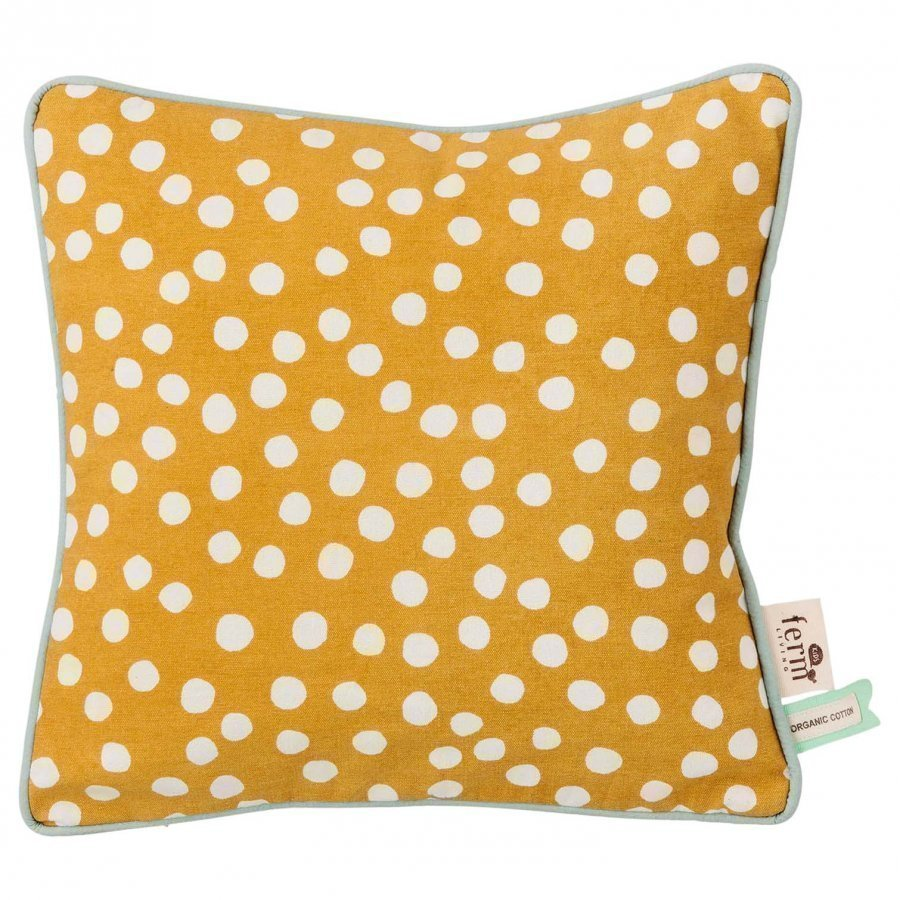 Ferm Living Dots Cushion Curry Koristetyyny
