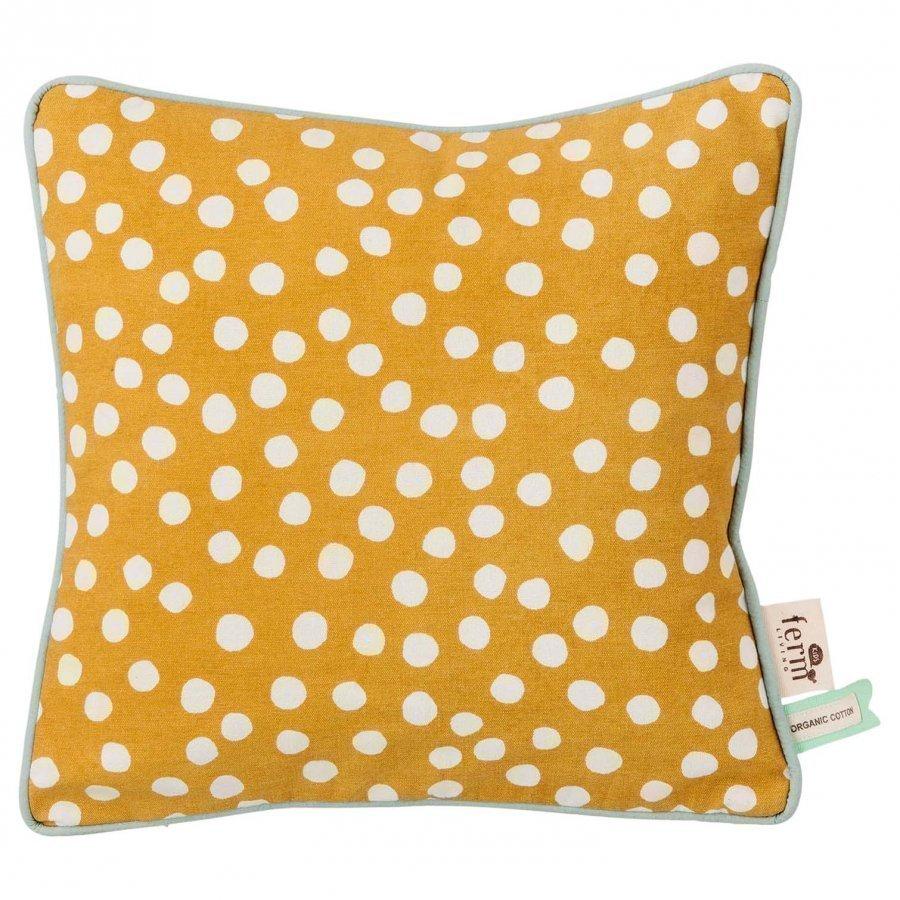 Ferm Living Dots Cushion Curry Koristetyyny