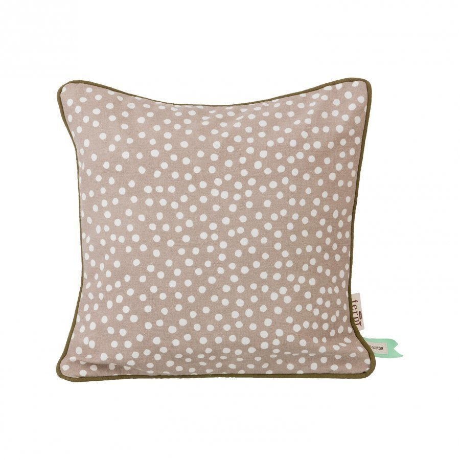Ferm Living Dots Cushion Grey Koristetyyny