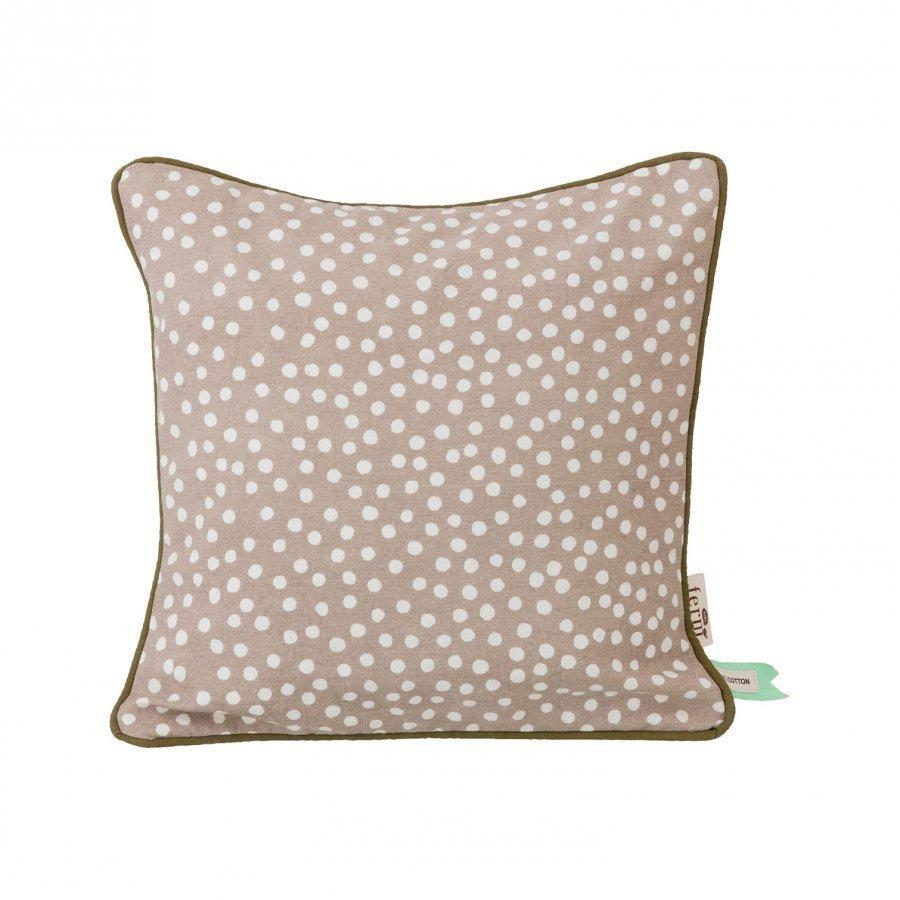 Ferm Living Dots Cushion Grey Koristetyyny
