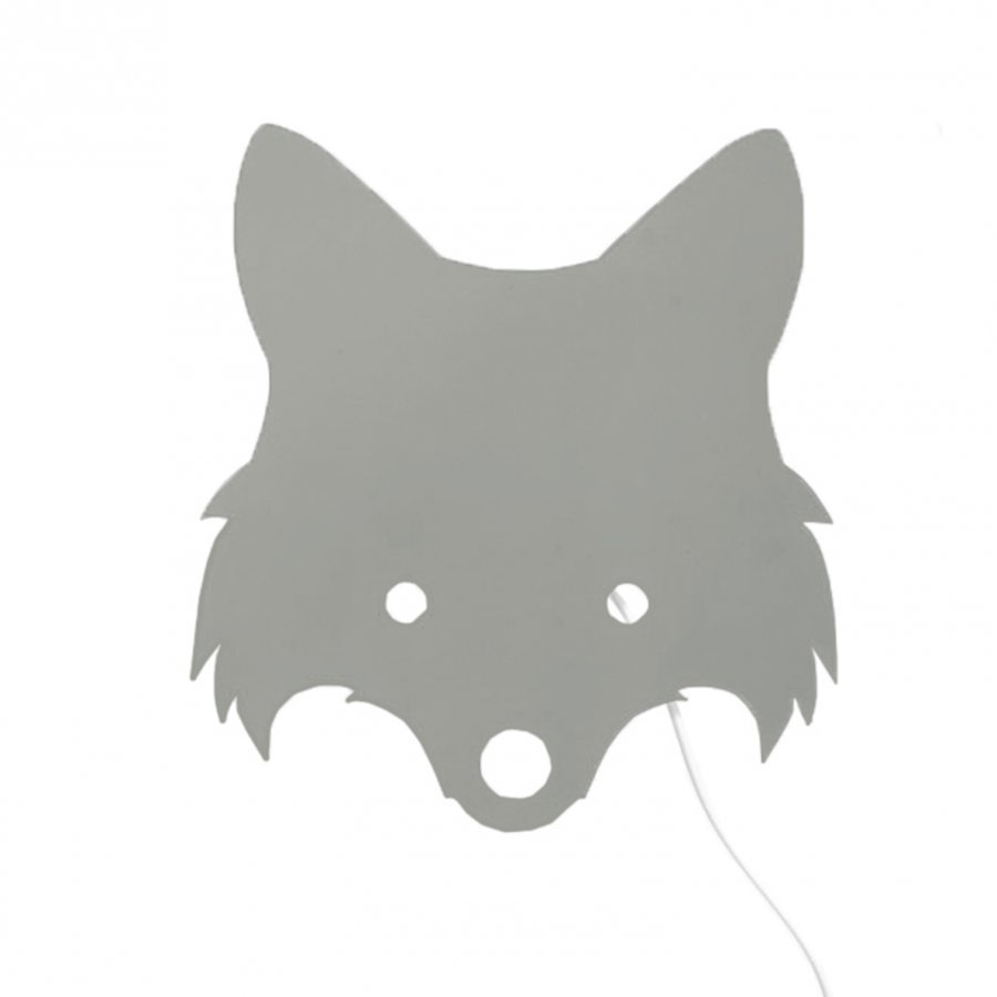 Ferm Living Fox Lamp Dusty Green Seinävalaisin