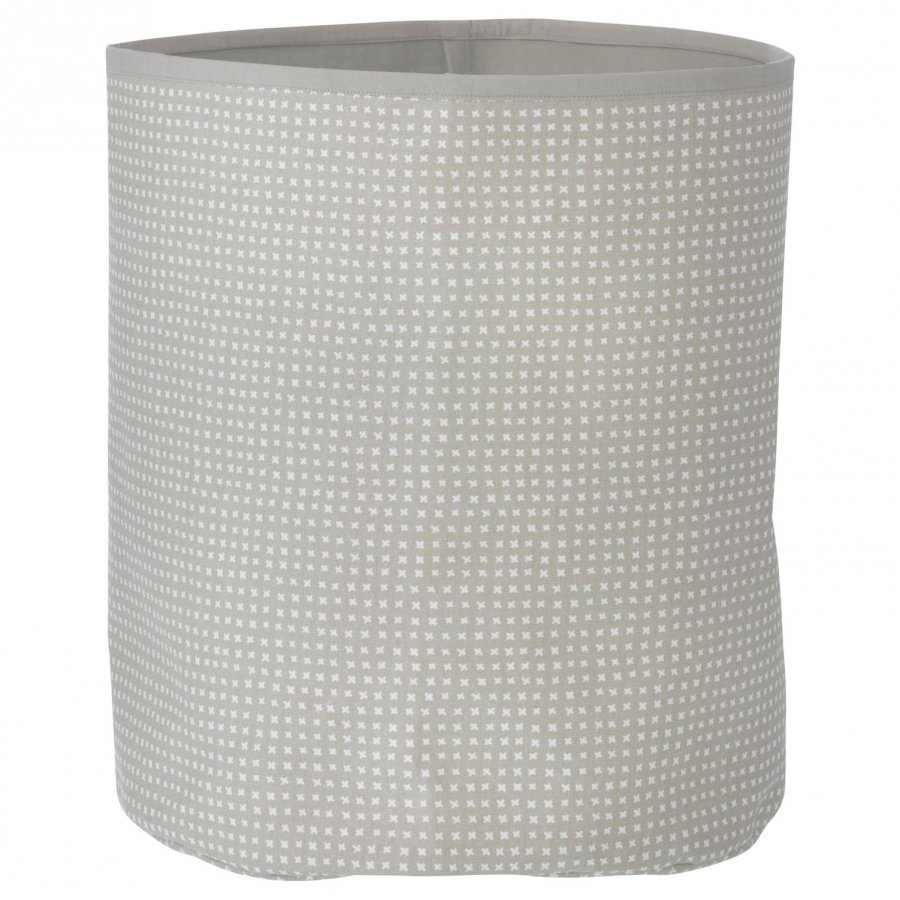 Ferm Living Grey Cross Basket Medium Säilytyskori