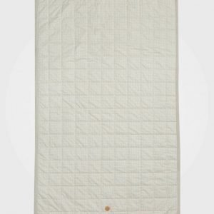 Ferm Living Grey Cross Bed Cover Huopa