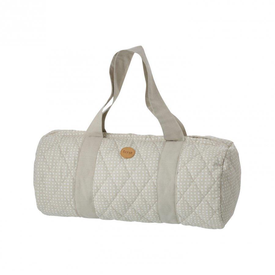 Ferm Living Grey Cross Duffel Bag Olkalaukku