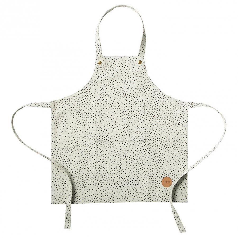 Ferm Living Kids Apron Mint Dot Ruokalappu