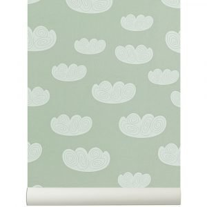 Ferm Living Kids Cloud Tapetti Minttu