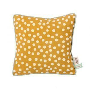 Ferm Living Kids Dots Tyyny Curry 30x30 Cm