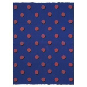 Ferm Living Kids Double Dot Huopa Sininen