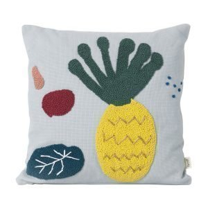 Ferm Living Kids Fruiticana Pineapple Tyyny 40x40 Cm