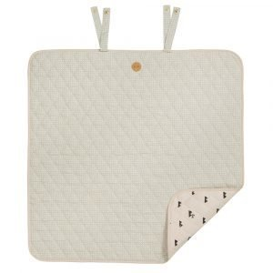 Ferm Living Kids Grey Cross Changing Blanket Huopa