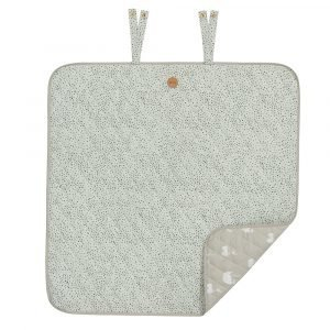 Ferm Living Kids Mint Dot Changing Blanket Huopa
