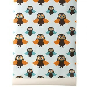 Ferm Living Kids Owls Tapetti