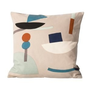 Ferm Living Kids Seaside Tyyny Harmaa 40x40 Cm