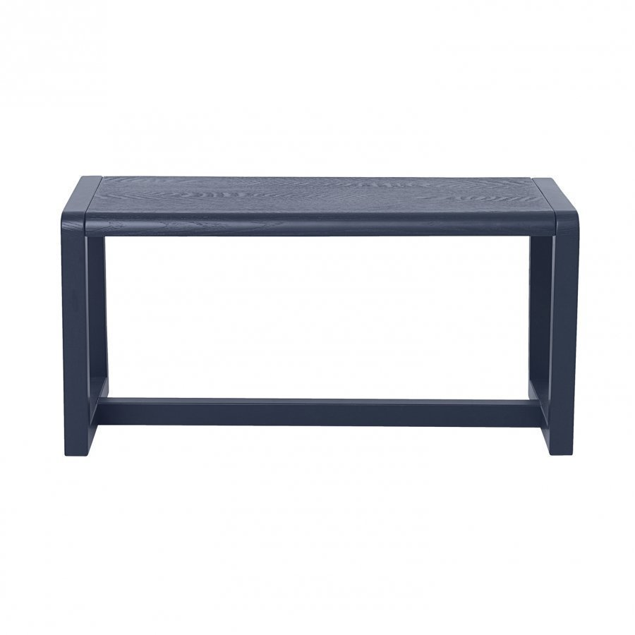 Ferm Living Little Architect Bench Dark Blue Penkki